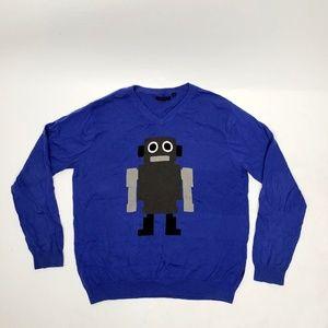 JACK & JONES Robot Sweater - XXL
